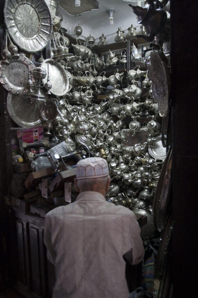 A shop in Fez Medina