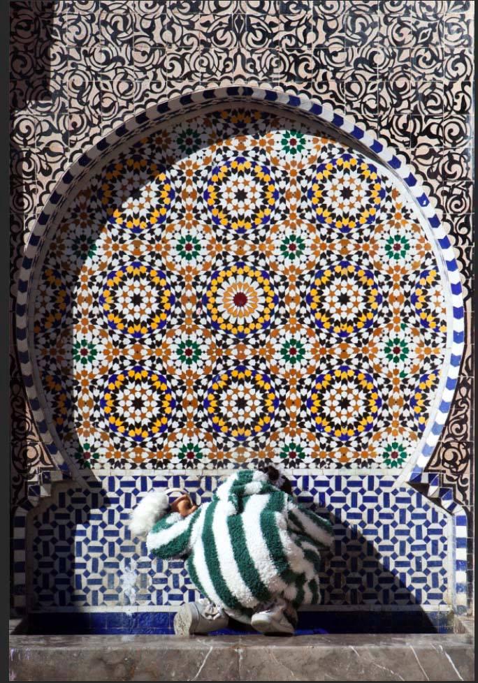 Fountain in Fez Medina